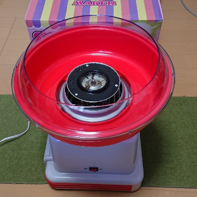 【値下げ!】わたあめ メーカー   cotton Candy maker キッズ/ベビー/マタニティのおもちゃ(その他)の商品写真