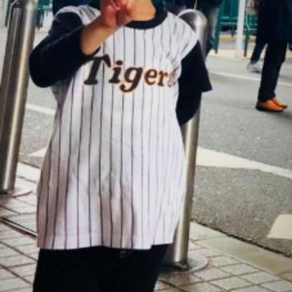 ハンシンタイガース(阪神タイガース)の阪神タイガースシャツ110(応援グッズ)