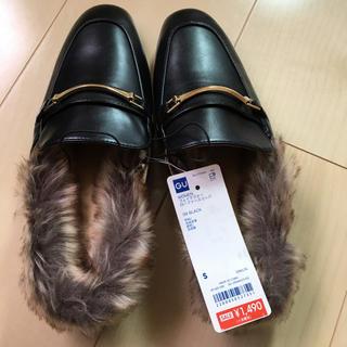 ジーユー(GU)のローファースリッパ  値下げ(ローファー/革靴)