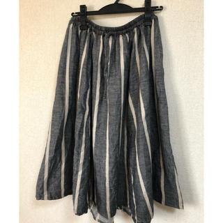 ネストローブ(nest Robe)のnestRobeネストローブ リネンスカート(ひざ丈スカート)