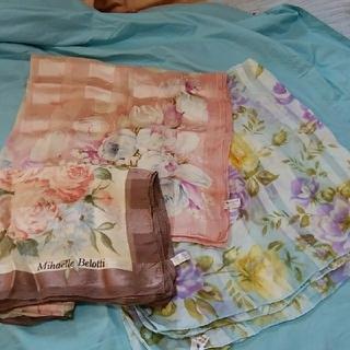 ブランドシルクスカーフ3枚セット(バンダナ/スカーフ)