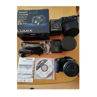 パナソニック(Panasonic)のFZ200、DMW-LA7、TCON-17X(コンパクトデジタルカメラ)