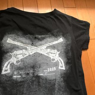 バーニーズニューヨーク(BARNEYS NEW YORK)のダメージTシャツ ユニセックス(Tシャツ(半袖/袖なし))