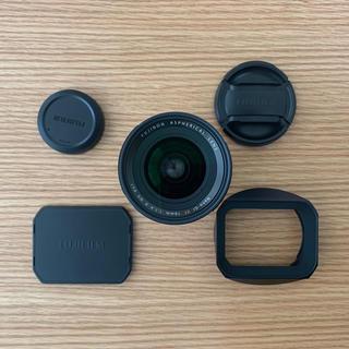 フジフイルム(富士フイルム)の【美品】FUJIFILM XF 16mm F1.4 R WR 角型レンズフード(レンズ(単焦点))