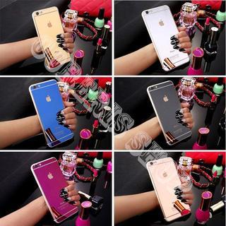 (背面)鏡面強化ガラス保護フィルム(iPhoneケース)