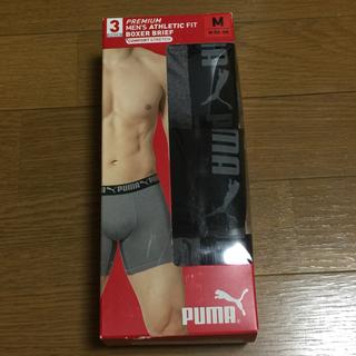 プーマ(PUMA)の新品 プーマメンズアンダーウェア ストレッチボクサー3枚セット(ボクサーパンツ)