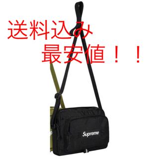 シュプリーム(Supreme)のsupreme Shoulder Bag 黒 2019ss(ショルダーバッグ)
