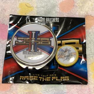 サンダイメジェイソウルブラザーズ(三代目 J Soul Brothers)のELLY缶バッチ タブレットケース(ミュージシャン)