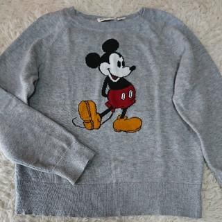 82eb90a3cb607 ディズニー(Disney)の130㎝ 綿100% ミッキー ニット(ニット)