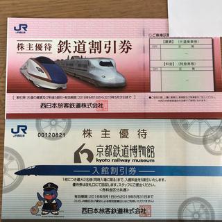 ジェイアール(JR)のJR 西日本旅客鉄道の株主優待鉄道割引券(鉄道乗車券)