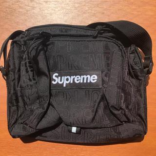 シュプリーム(Supreme)のsupreme ショルダーバッグ 黒 19ss(ショルダーバッグ)