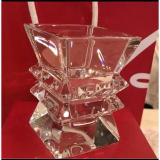 バカラ(Baccarat)のバカラ Baccarat コロンビーヌ フラワーベース 花瓶  箱あり 未使用(花瓶)