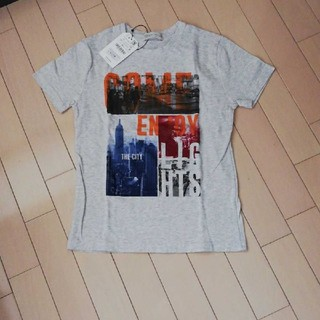 ザラ(ZARA)の新品 ZARA ロゴ Tシャツ (Tシャツ/カットソー)