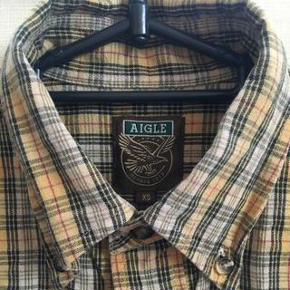 エーグル(AIGLE)のAIGLE チェックシャツ (シャツ/ブラウス(長袖/七分))