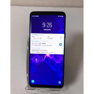 サムスン(SAMSUNG)の値下げしました!最高海外版SIMフリーSamsung Galaxy S9+(スマートフォン本体)