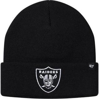 シュプリーム(Supreme)のSupreme®/NFL/Raiders/'47 Beanie (Black)(ニット帽/ビーニー)