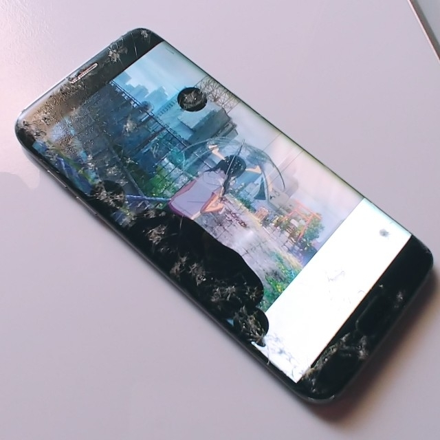 SAMSUNG(サムスン)のGALAXY s7 edge SIMフリードコモ ジャンク 液晶不良 スマホ/家電/カメラのスマートフォン/携帯電話(スマートフォン本体)の商品写真