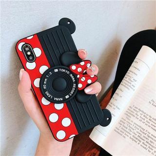 iphone7plus/iphone8plus カメラ スマホケース ミニー(iPhoneケース)