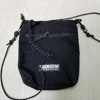 thisisneverthat logo waist bag ショルダーバッグ(ショルダーバッグ)