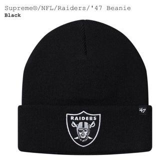 シュプリーム(Supreme)のSupreme®/NFL/Raiders/'47 Beanie(ニット帽/ビーニー)