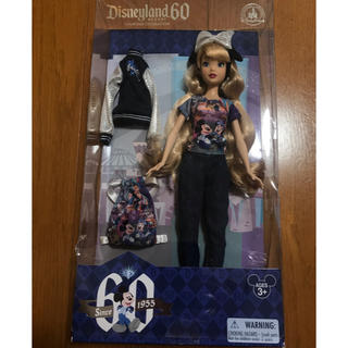 ディズニー(Disney)の日本未発売!カリフォルニアディズニー60周年記念 バービー人形セット(ぬいぐるみ)