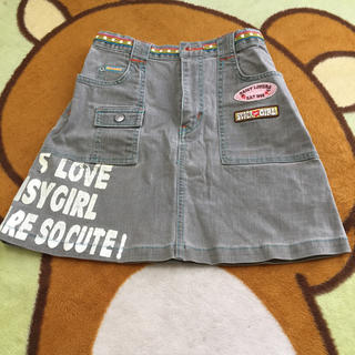 ディジーラバーズ(DAISY LOVERS)の女児ディジーラバーズタイトスカート150(スカート)