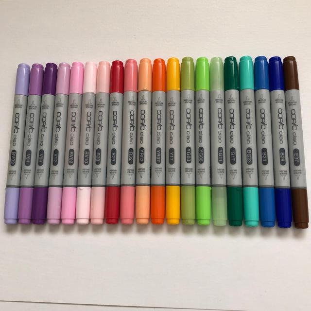 TOOLS(ツゥールズ)のコピックチャオ 20本 エンタメ/ホビーのアート用品(カラーペン/コピック)の商品写真