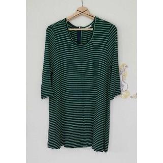 ジーユー(GU)のボーダーTシャツ(Tシャツ(長袖/七分))