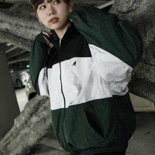 カンゴール(KANGOL)のZIP FIVE × KANGOL 切替ナイロンビッグジャケット(ナイロンジャケット)