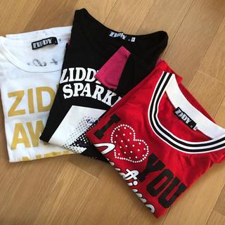 ジディー(ZIDDY)のかりん様 ZIDDY ロンT 3枚セット(Tシャツ/カットソー)