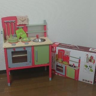 janod おままごと 木製ビストロ キッチン(知育玩具)