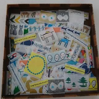 ミナペルホネン(mina perhonen)のミナペルホネン  マスキングテープ  フレークシール  90枚(テープ/マスキングテープ)