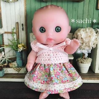 ベレンゲール5インチ  お洋服 お花柄ワンピース(人形)