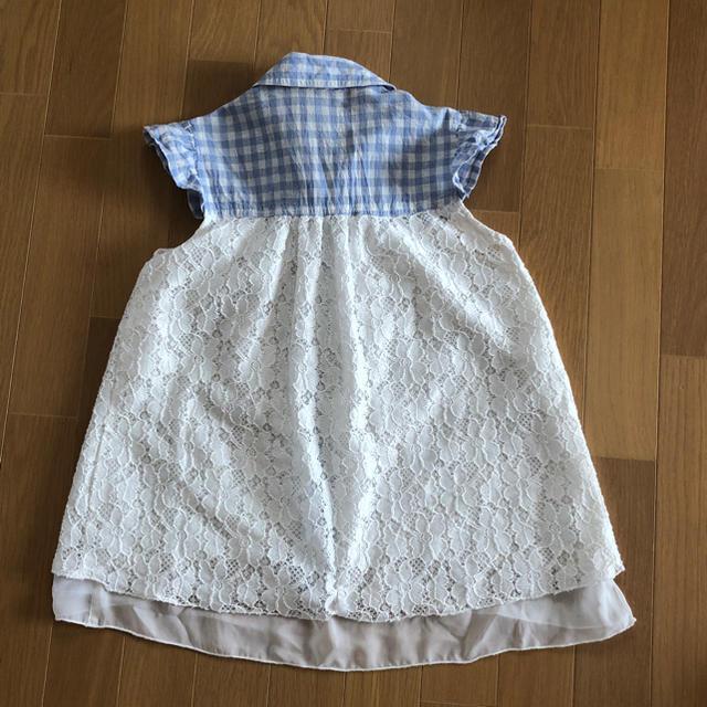 ガールズ ブラウス キッズ/ベビー/マタニティのキッズ服 女の子用(90cm~)(ブラウス)の商品写真