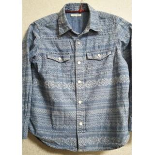 ジーユー(GU)のデニムシャツ 120(Tシャツ/カットソー)