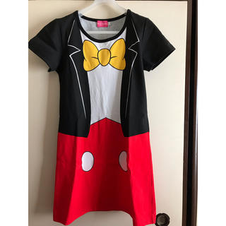ディズニー(Disney)のミッキーワンピース  美品(その他)