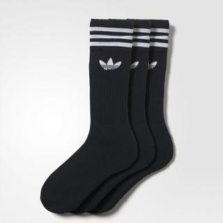 アディダス(adidas)の黒22~24【新品/即日発送】adidas オリジナルス ソックス 3足セット(ソックス)