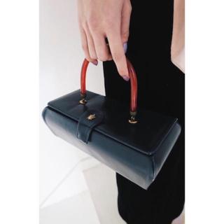 『DEPT』Leather box bag(ハンドバッグ)