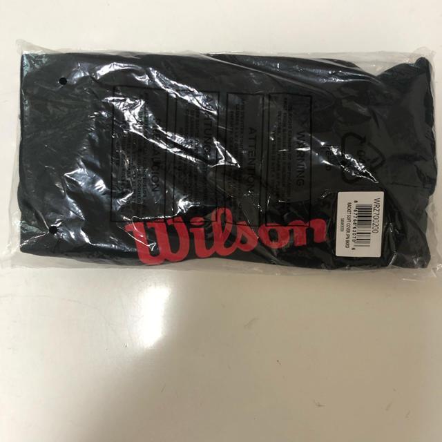 wilson(ウィルソン)の【新品・未使用】Wilson ウィルソン 布製ラケットケース ソフトケース  スポーツ/アウトドアのテニス(バッグ)の商品写真