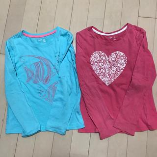ギャップキッズ(GAP Kids)の130㎝ ロングTシャツ2枚セット(Tシャツ/カットソー)