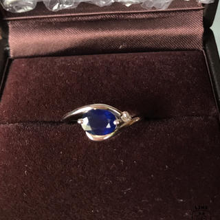ring(サファイア) 鑑定書付(リング(指輪))