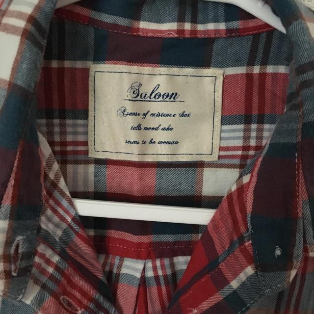 BABYLONE(バビロン)のSaloon*チェックシャツ レディースのトップス(シャツ/ブラウス(半袖/袖なし))の商品写真