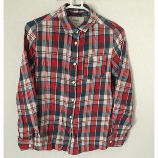 バビロン(BABYLONE)のSaloon*チェックシャツ(シャツ/ブラウス(半袖/袖なし))