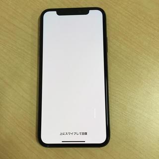アイフォーン(iPhone)のiPhone X Space Gray 256GB simフリー ジャンク(スマートフォン本体)