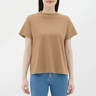 ジーユー(GU)の完売入手困難!GUスムースTシャツ(Tシャツ(半袖/袖なし))
