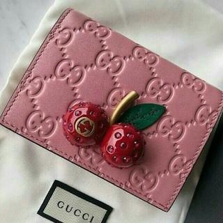 グッチ(Gucci)のGUCCI チェリー ミニ財布(財布)