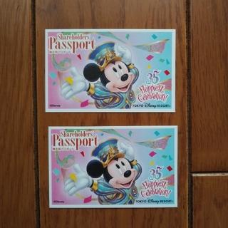 ディズニー(Disney)のディズニー パスポート大人2枚(遊園地/テーマパーク)