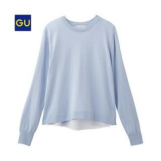 GU - バックレイヤードセーター