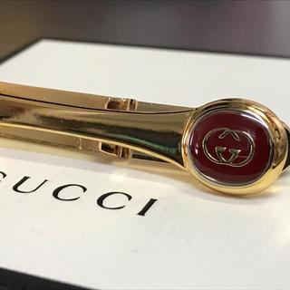 グッチ(Gucci)のグッチ ネクタイピン タイピン タイクリップ ボルドー(ネクタイピン)
