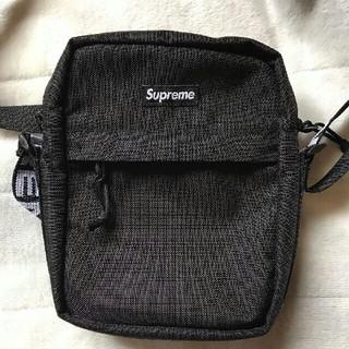 シュプリーム(Supreme)の18SS Supeme Shoulder Bag ショルダーバッグ黒 新品未使用(ショルダーバッグ)
